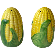 SALE Small Shawnee Corn Salt and Pepper Shakers