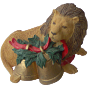 SALE Lion with Bells by Rubel