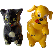 Ken-L-Ration cat and dog Salt and Pepper shakers