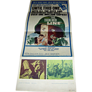 SALE Movie Poster - The Thin Red Line  - 1964