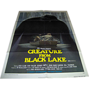 SALE Movie Poster - Creature From Black Lake - 1976