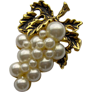 SALE Bunch of Grapes Brooch