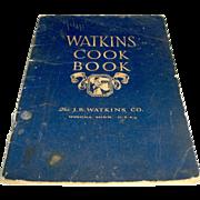 SALE 1930 Watkins Cook Book