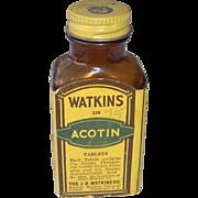 Watkins Acotin Tablets Bottle