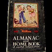 1939 Watkins Almanac and Home Book of useful information