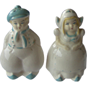 Dutch Man and Woman Salt and Pepper Shakers