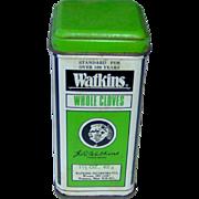Watkins Whole Cloves Tin