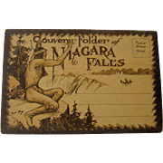 Native Indian - Souvenir Folder - Niagara Falls
