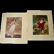Prints of Pinkie and Master Lambton