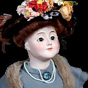 """Elegant Kestner """"Gibson Girl"""" Lady Doll"""