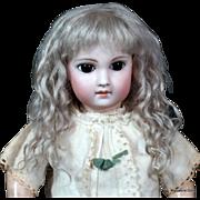Amalie ~ Ash Blond Mohair Wig (Size 10-11)