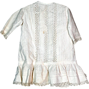 Victorian Child's Open Cutwork Dress for Large Doll