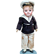 SALE SFBJ 60 Bebe Incassable in GREAT Sailor Outfit, Mint Complexion