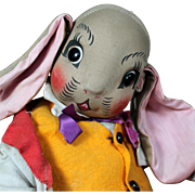 SOLD Uncle Wiggily Cloth Character Doll by Georgene Averill