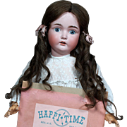 "Kestner 171 Sears ""Happi Time"" Doll in ALL-ORIGINAL Condition, with Partial box, Chr"