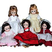 "Madame Alexander Vintage 12"" Little Women Set"