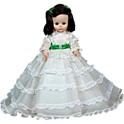 "Madame Alexander 14"" Gone with the Wind Scarlett O'hara Doll"