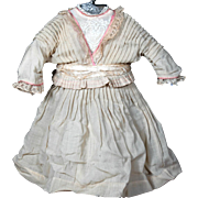 "Antique Dress  for 24"" French Doll"