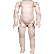 8 Ball EJ Body for Emile Jumeau French Bisque Doll