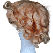 Shirley Temple Mohair Wig, 1930's, in Curly Set