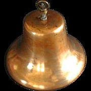 Vintage Hanging Brass Boat Bell