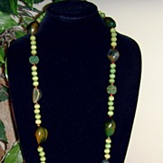 Bohemian Style Beaded Necklace