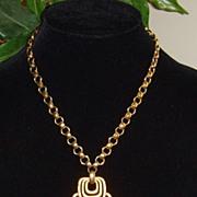 Hobe Gold-Tone Pendant