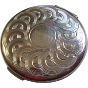 Sterling Silver Compact Volupte