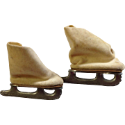 "1950's Ice Skates for 8"" Ginny, Wendy, Muffie"