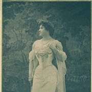 """REDUCED """"Nellie Melba, World Renowned Soprano"""" 1903 Autographed Photograph!"""