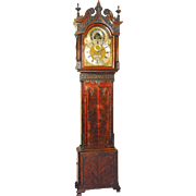 SALE English Rare Astronomical Model James Barnsley Tall Case Clock