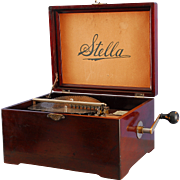 SALE Stella Single Comb 9-1/2″ Disc Music Box