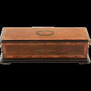 SALE Swiss 16.25″ Cylinder Music Box by Paillard