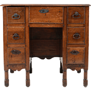 SALE French Provincial Walnut Writing Desk