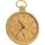 18K Gold Fusee Pocket Watch by John Harrison
