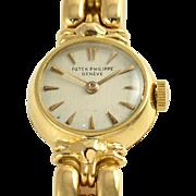 Swiss Ladies 18K Yellow Gold Wrist Watch by Patek Philippe
