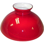 Red Case Student Lamp Shade