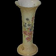 Hand Painted RW Rudolstadt Floral Vase
