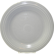 Gray Fiesta Dinner Plate