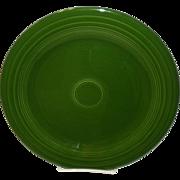 "Dark Green Fiesta 10 1/4"" Plate"