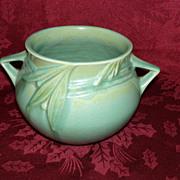REDUCED Roseville Velmoss Matte Green Planter / Vase
