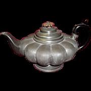 Early 1830's James Dixon & Son Pewter Teapot