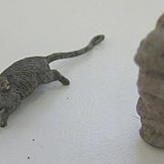 Antique miniature pair of mice