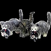 Vienna Bronze miniature cat kitten