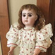 """Antique Jumeau bisque doll 22"""""""