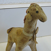 REDUCED Antique toy animal Giraffe