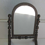 Antique Doll toy miniature furniture small size Cheval mirror