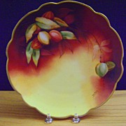 SALE Antique Limoges Handpainted Plate,Pickard artist