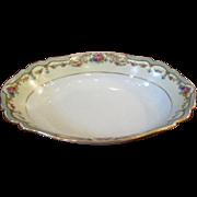 Paul Muller Selb Porcelain Oval Vegetable Bowl