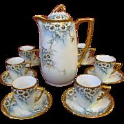 Krister Porcelain Manufactory KPM Chocolate Pot Set